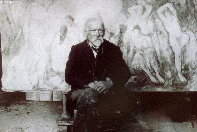 Cezanne peint !